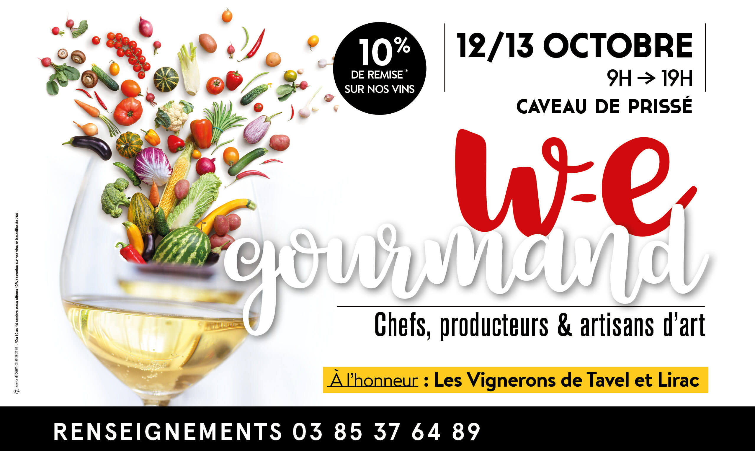 Weekend Gourmand les 12 et 13 octobre